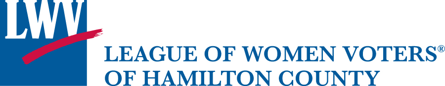 League of Women Voters of Hamilton County logo