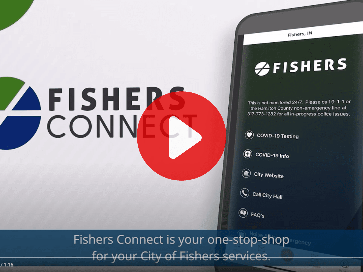 fishers connect video